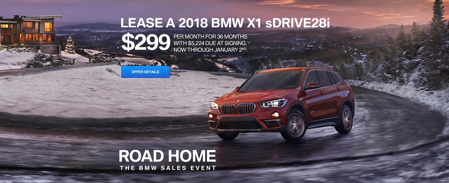 2018 BMW X1 Slider