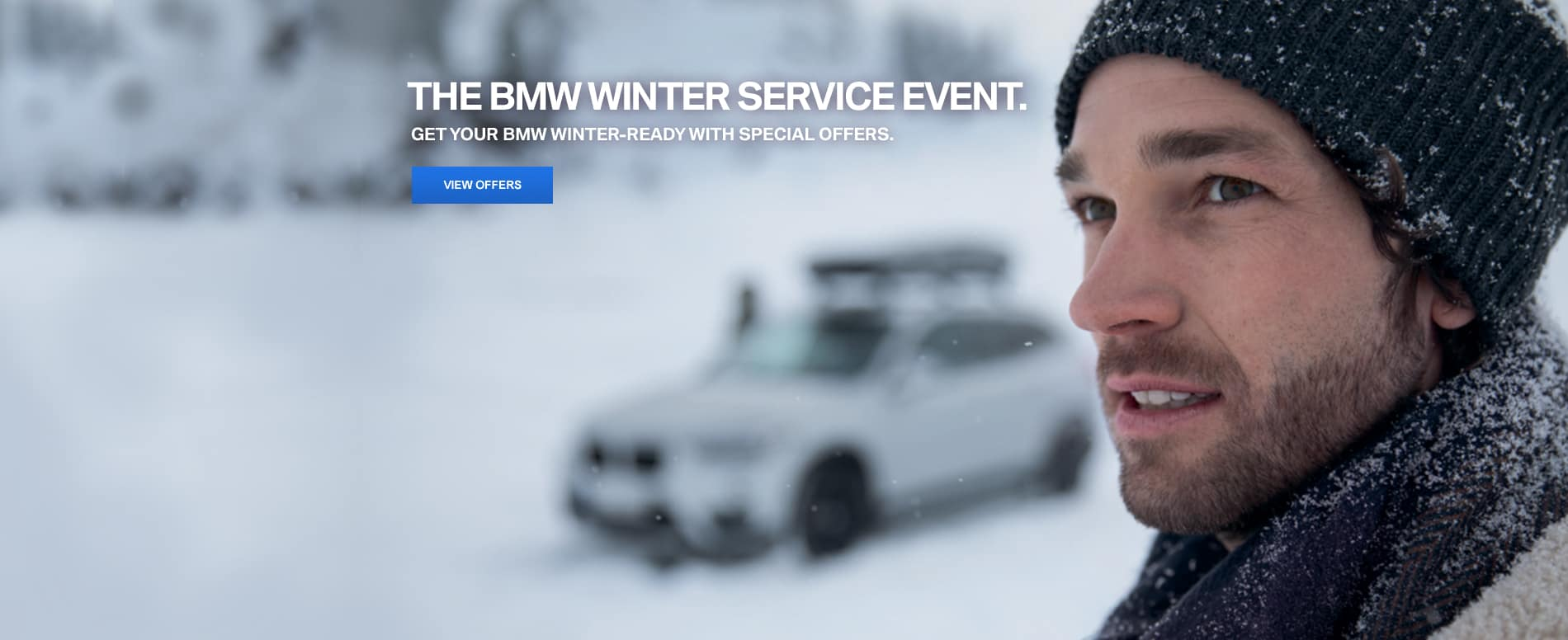 BMW Winter Service Slider