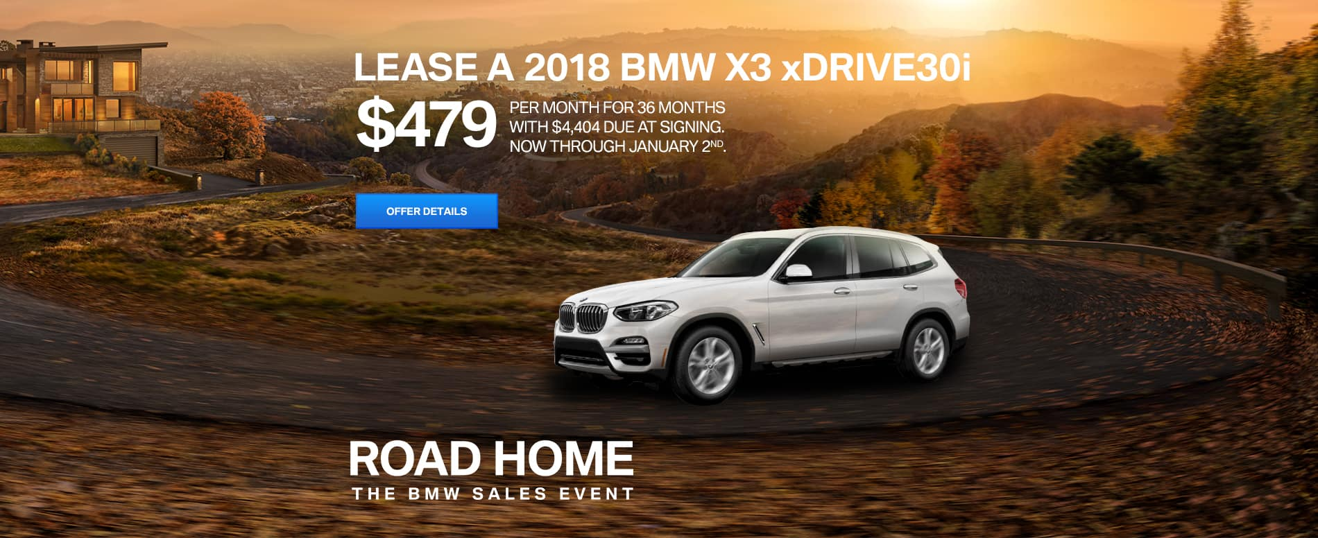 BMW X3 slider