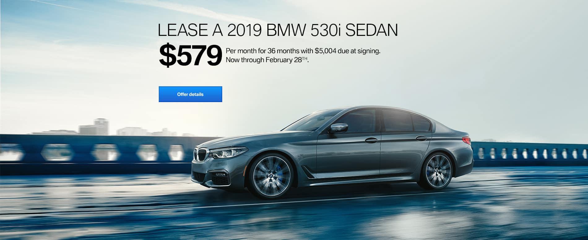 2019 BMW 530i Feb