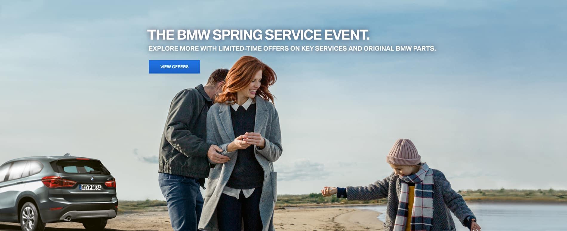BMW Spring Service Event