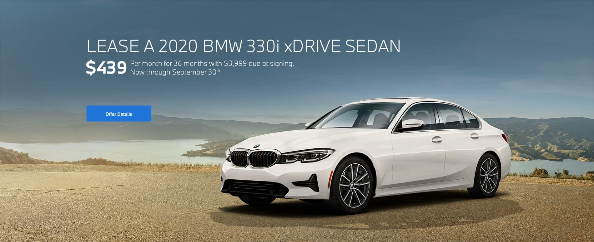 2020 BMW 330i xDrive Sedan for $439/mo