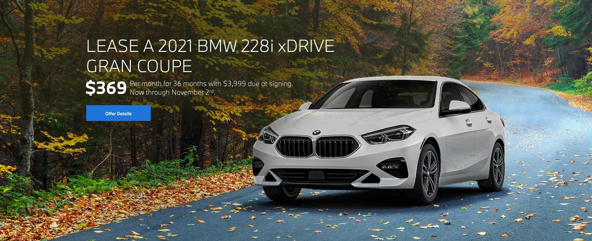 2021 BMW 228i xDrive Gran Coupe Lease