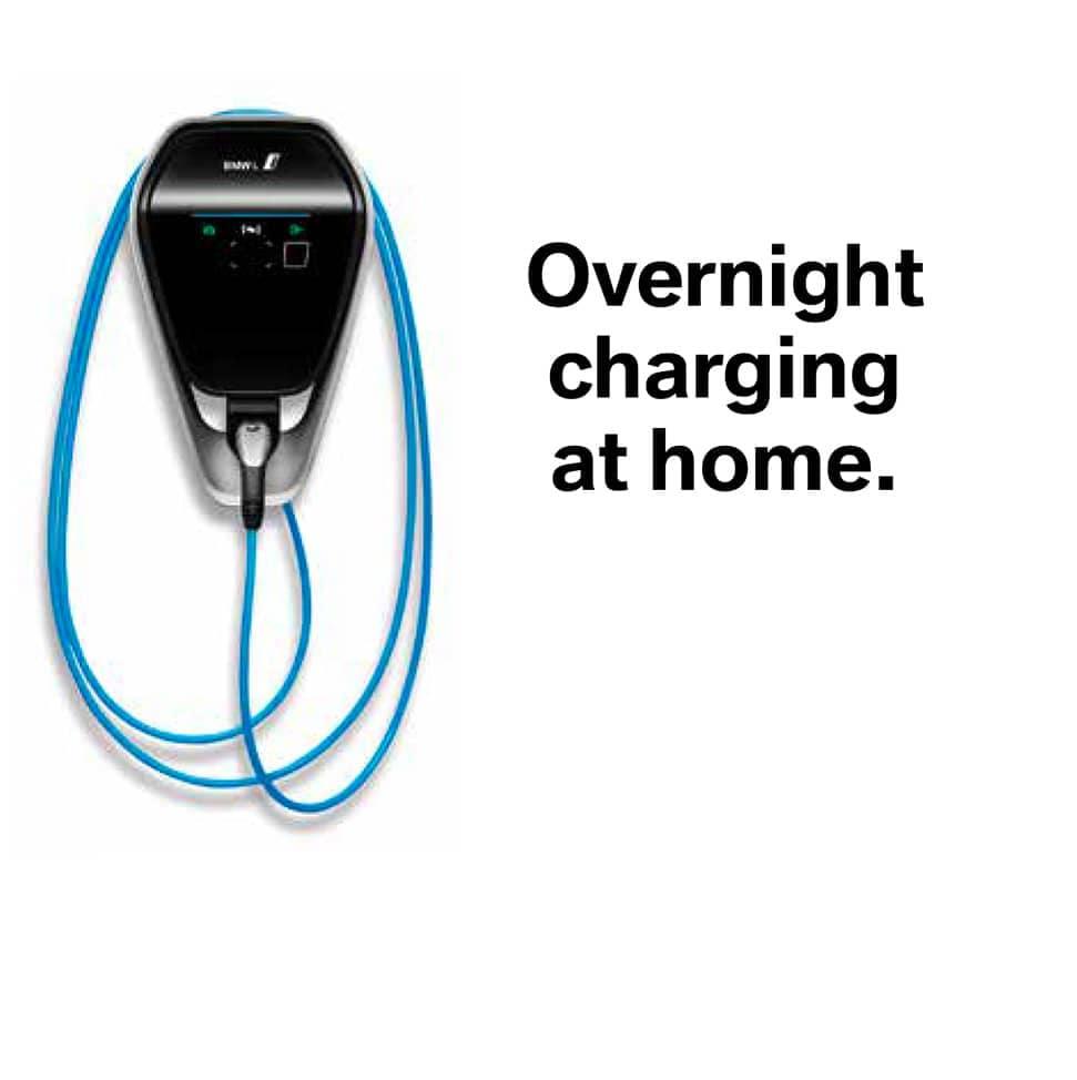 Amazon Overnight BMW Charging