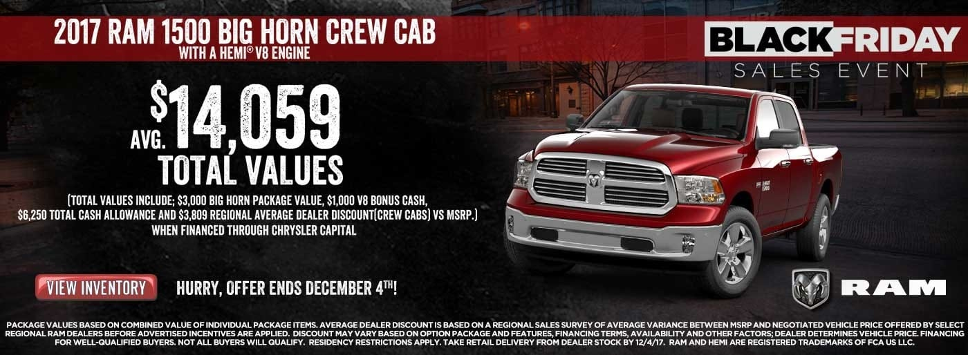 MABC Ram 1500 Black Friday