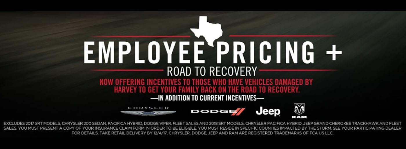 SWBC Texas Employee Pricing November