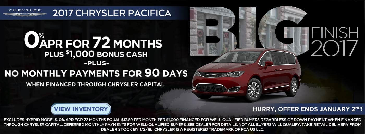SWBC All Market Chrysler Pacifica
