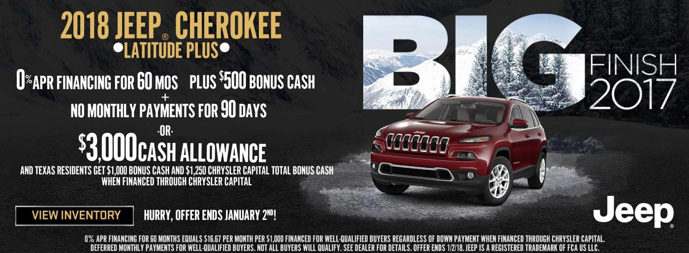 SWBC Texas Jeep Cherokee December
