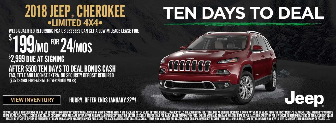 NEBC Cherokee 10 Days