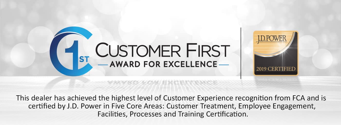 Customer First Award For Excellence