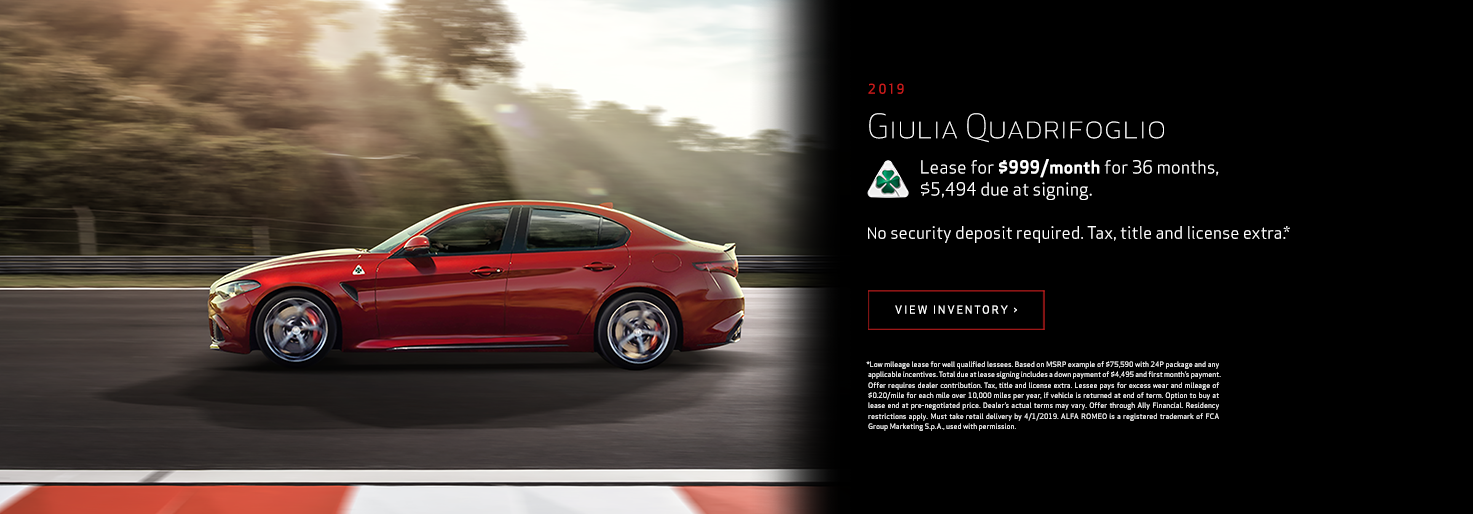 AlfaRomeo-2019-Giulia-QV-Lease-March