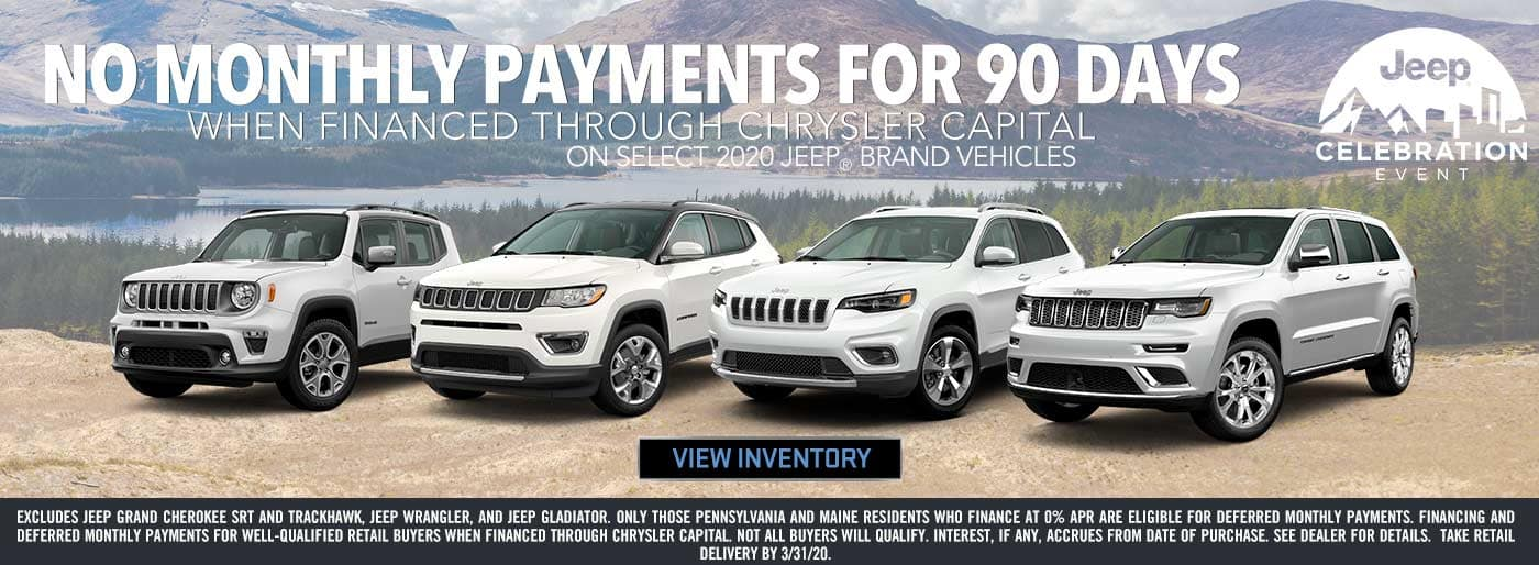 No Monthly Payments for 90 Days in Boulder CO