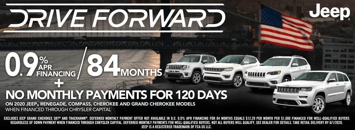 Jeep Drive Forward Sale Event