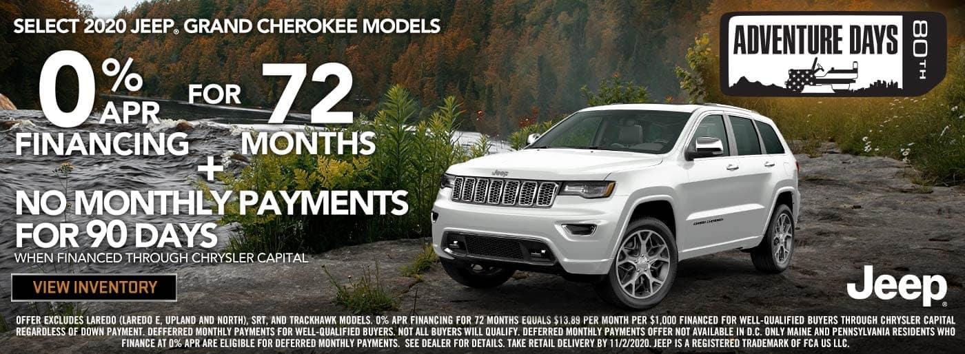 Grand Cherokee National 0 for 72 October