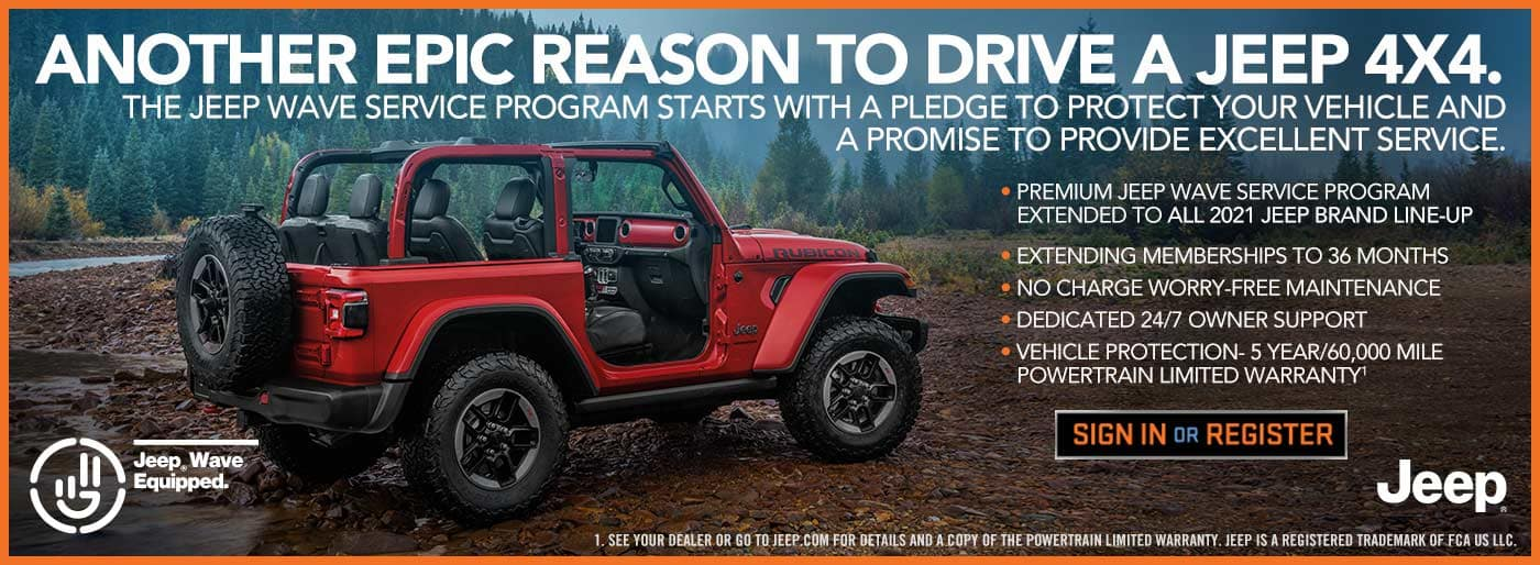 Jeep Wave Service Program