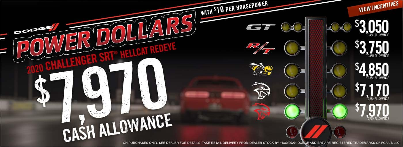 Dodge Power Dollars Savings