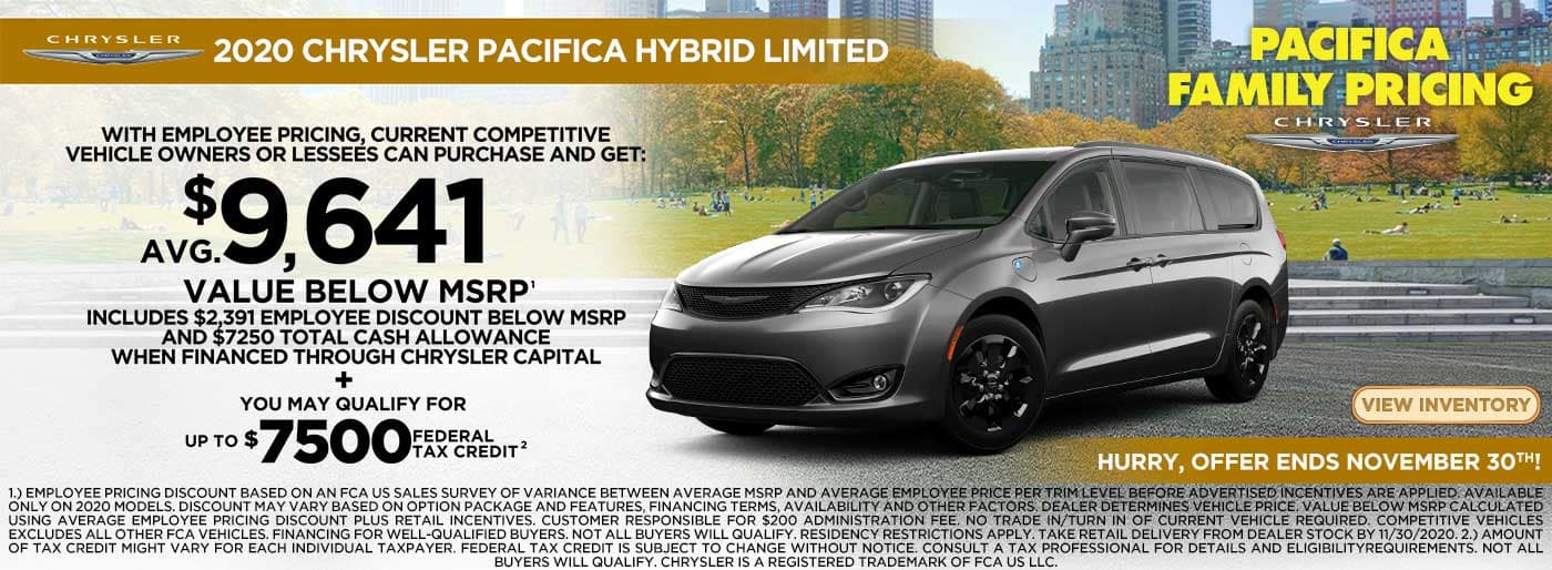 Pacifica Hybrid 9641