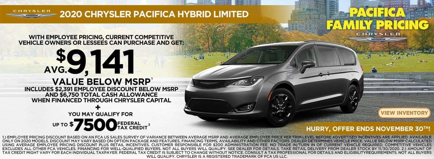 Pacifica Hybrid 9141