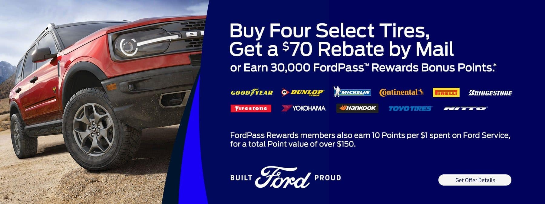 Tire Rebate special offer