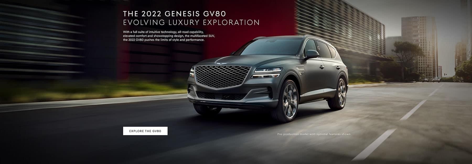 2022 Genesis GV80