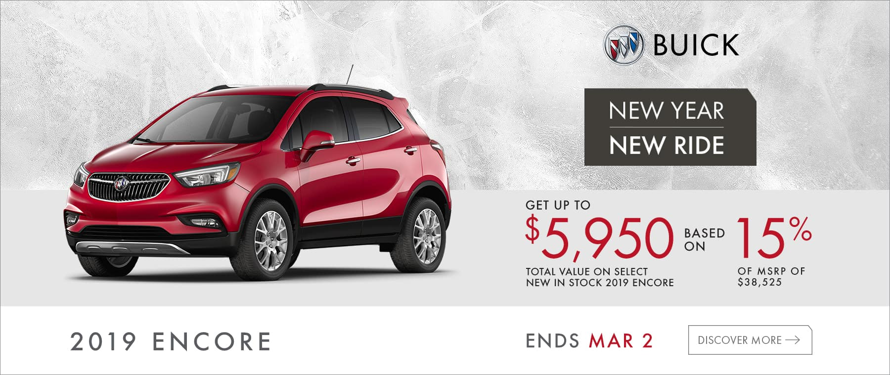 2019 Encore New Year New Ride