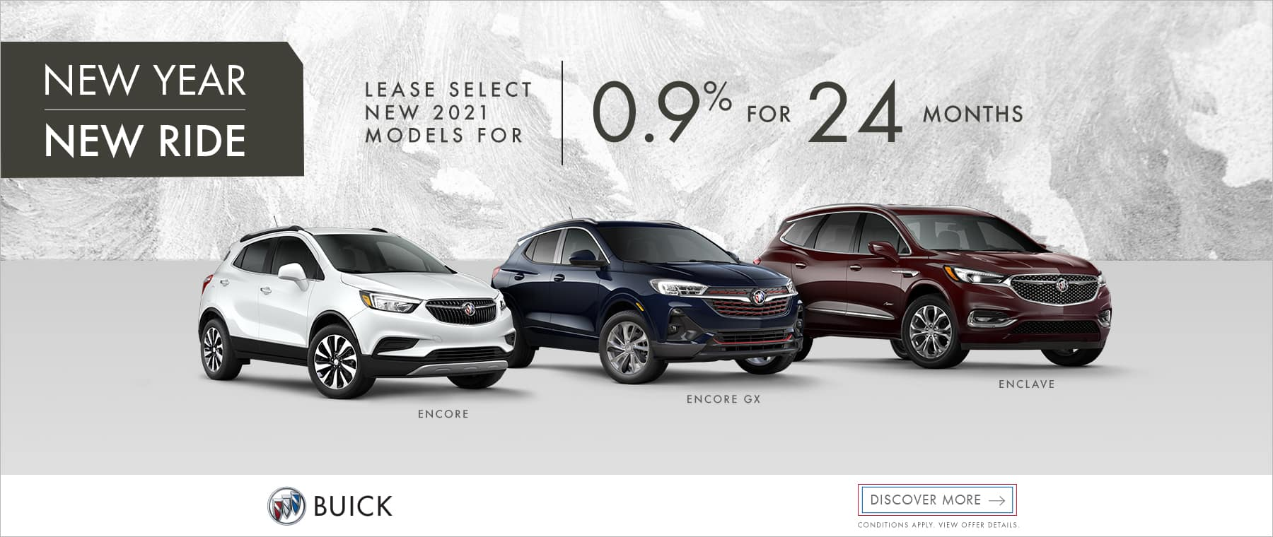 Boxing Day – Year End Savings – Buick Family – Western