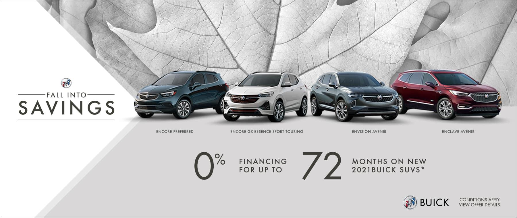 Fall Into Savings - Buick Family