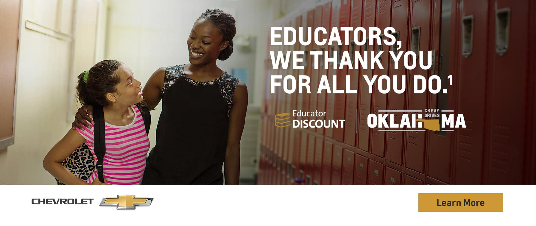 Educators, We thank your for all that you do