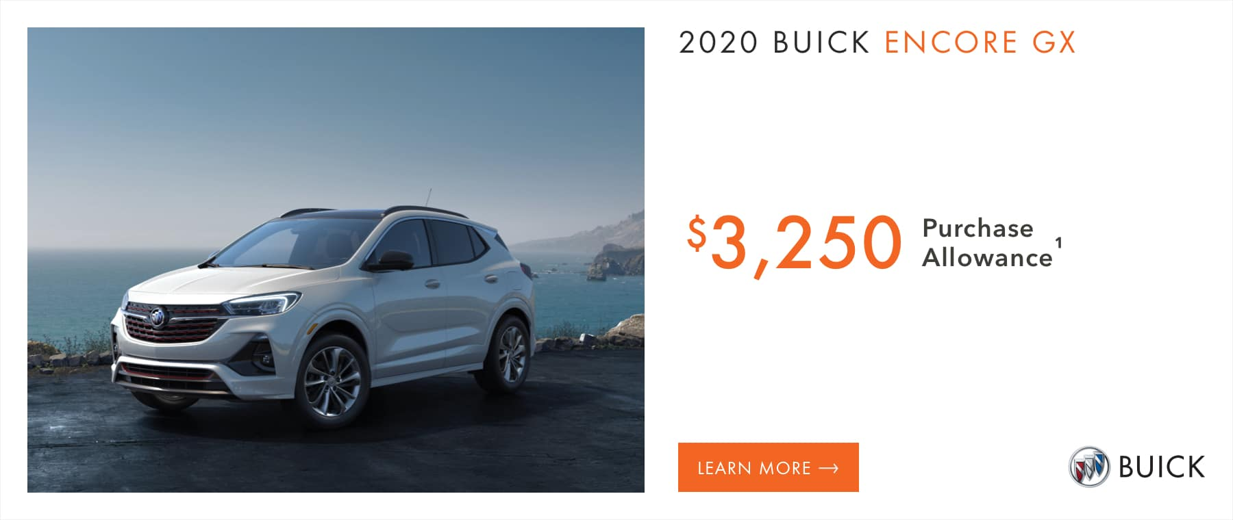 2020 Buick Encore GX Models - $3,250 Purchase Allowance