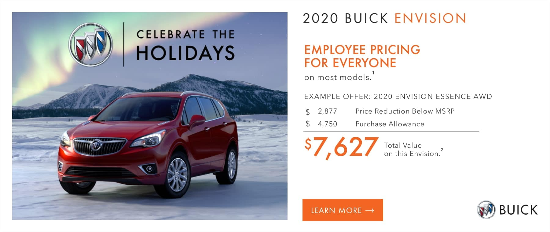 EMPLOYEE PRICING FOR EVERYONE on most models.