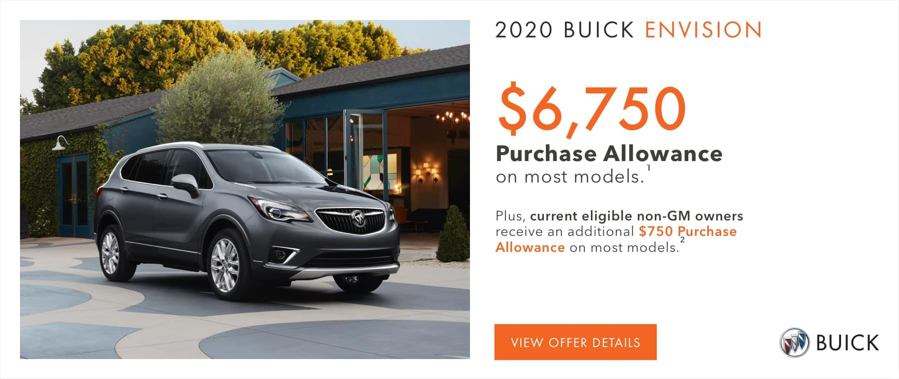 $6,750 Purchase Allowance on most models.1 Plus, current eligible non-GM owners receive an additional $750 Purchase Allowance on most models.