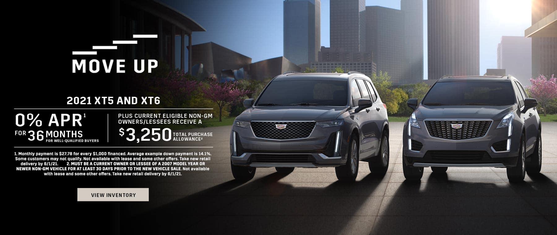 2021 Cadillac XT4 & XT5 offers