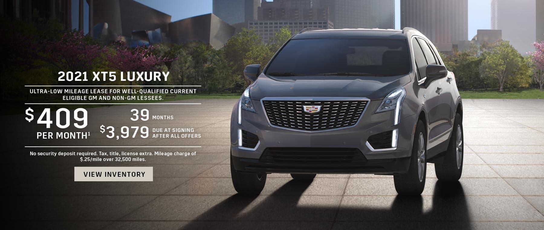 2021 Cadillac XT5 Lease offer