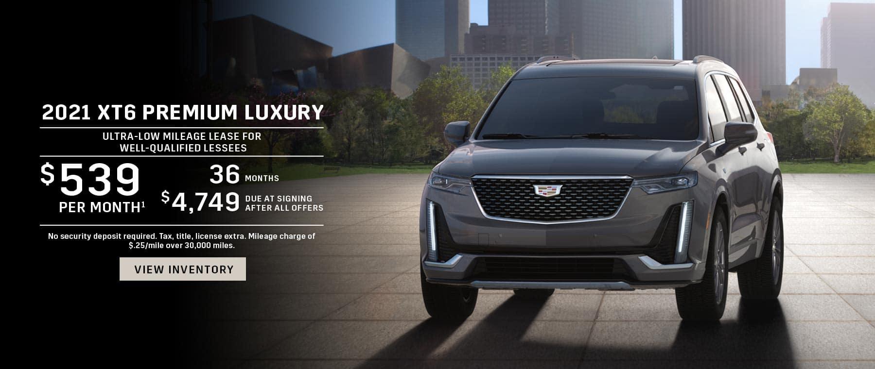 2021 Cadillac XT6 Lease offer