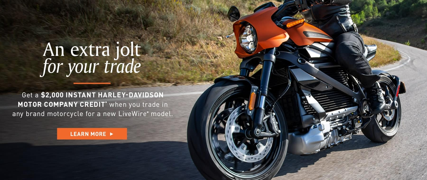 Harley-Davidson Livewire Trade In Credit