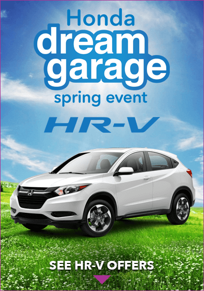 Honda Dream Garage HR-V Button