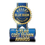 2018 Odyssey Kelley Blue Book 5-Year Cost to Own Award