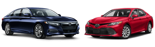 2018 Honda Accord vs. 2018 Toyota Camry: Residual Values