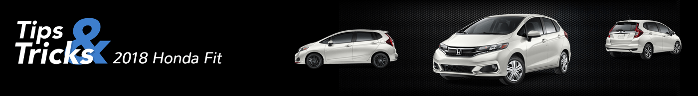 2018 Honda Fit Tips and Tricks Divider