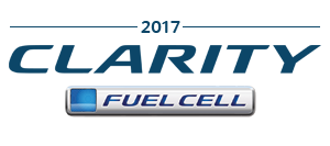 2017 Honda Clarity Fuel Cell Badge