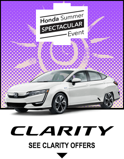 Honda Summer Spectacular Event - Clarity Button