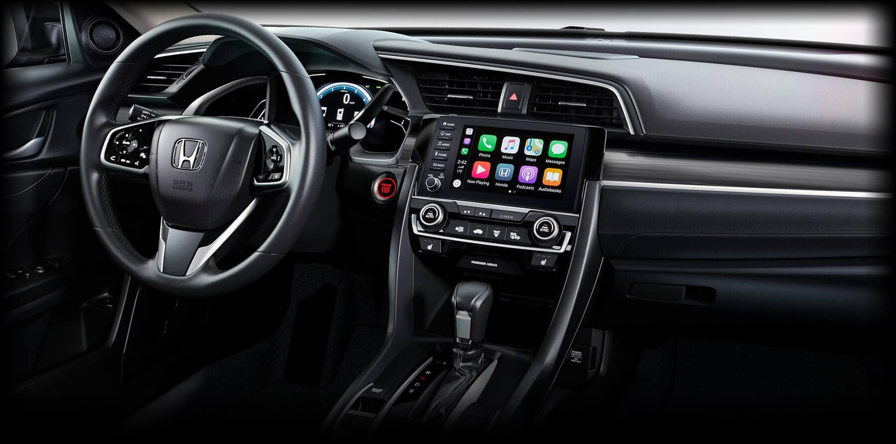 2019 Honda Civic Apple CarPlay Slider