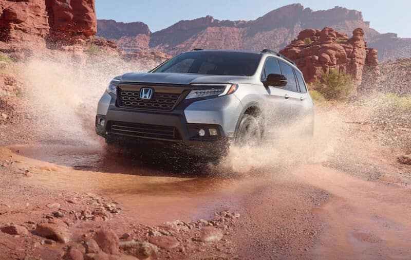 2019 Honda Passport: Power to Tackle the Terrain