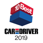 2019 Car and Driver 10Best Honda Accord