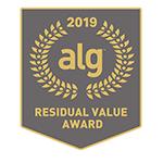Honda Accord 2019 ALG Residual Value Award