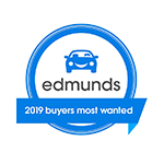 Honda CR-V 2019 Edmunds Buyers Most Wanted Award
