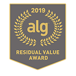 Honda Odyssey 2019 ALG Residual Value Award