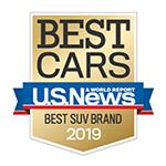U.S. News 2019 Best SUV Brand Honda Pilot