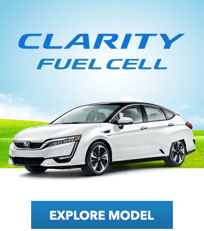Electrified Education: Honda Clarity Fuel Cell Button