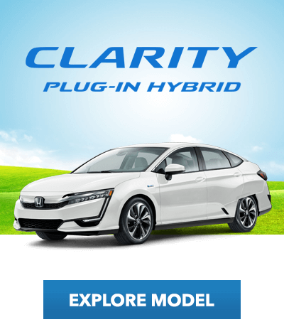 Electrified Education: Honda Clarity Plug-In Hybrid Button